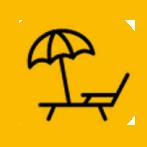 AreaX-STRANDBEDDEN-verhuur-Roermond-geel